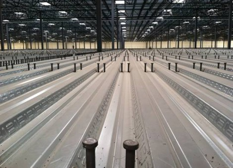 THE ADVANTAGE OF THE COMBINATION OF STEEL-FRAME BUILDING AND CONCRETE FLOOR